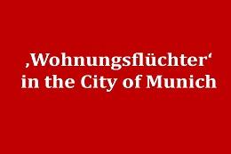 Wohnungsflüchter in Munich