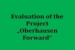"""Evaluierung des Projekts """"Oberhausen nach vorn"""""""