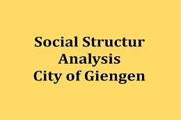 Social Structure Analysis of the City of Giengen