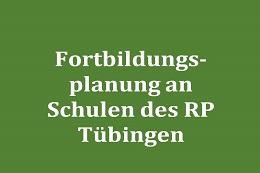 "Evaluation des Piotprojekts ""Fortbildungsplanung an Schulen des RP Tübingen"""