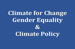 Climate for Change: Gender Equality & Climate Policy in the City of Munich