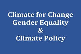 Climate for Change: Gender Equality & Climate Policy in der Landeshauptstadt München