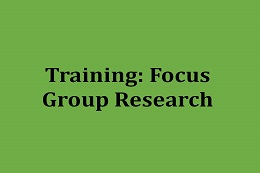 Training for Medical Doctors: Conducting Focus Groups