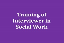 Interview Training Courses for Social Workers