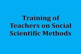 Training in Social Scientific Methods for Teachers