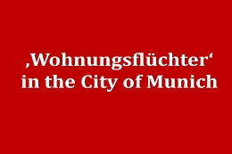 Wohnungsflüchter in the City of Munich