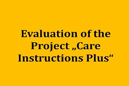 "Evalution of the Project ""Betreuungsweisung Plus"""