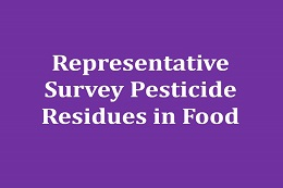 Representative population survey: pesticides