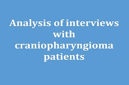 Analysis of Interviews with Craniopharyngioma Patients