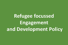 Link between Refugee focussed and Development Political Engagement: Survey on the Local Field of Actors in Munich