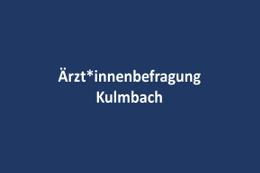 Ärzt*innenbefragung Kulmbach