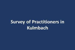 Survey of Practitioners in Kulmbach